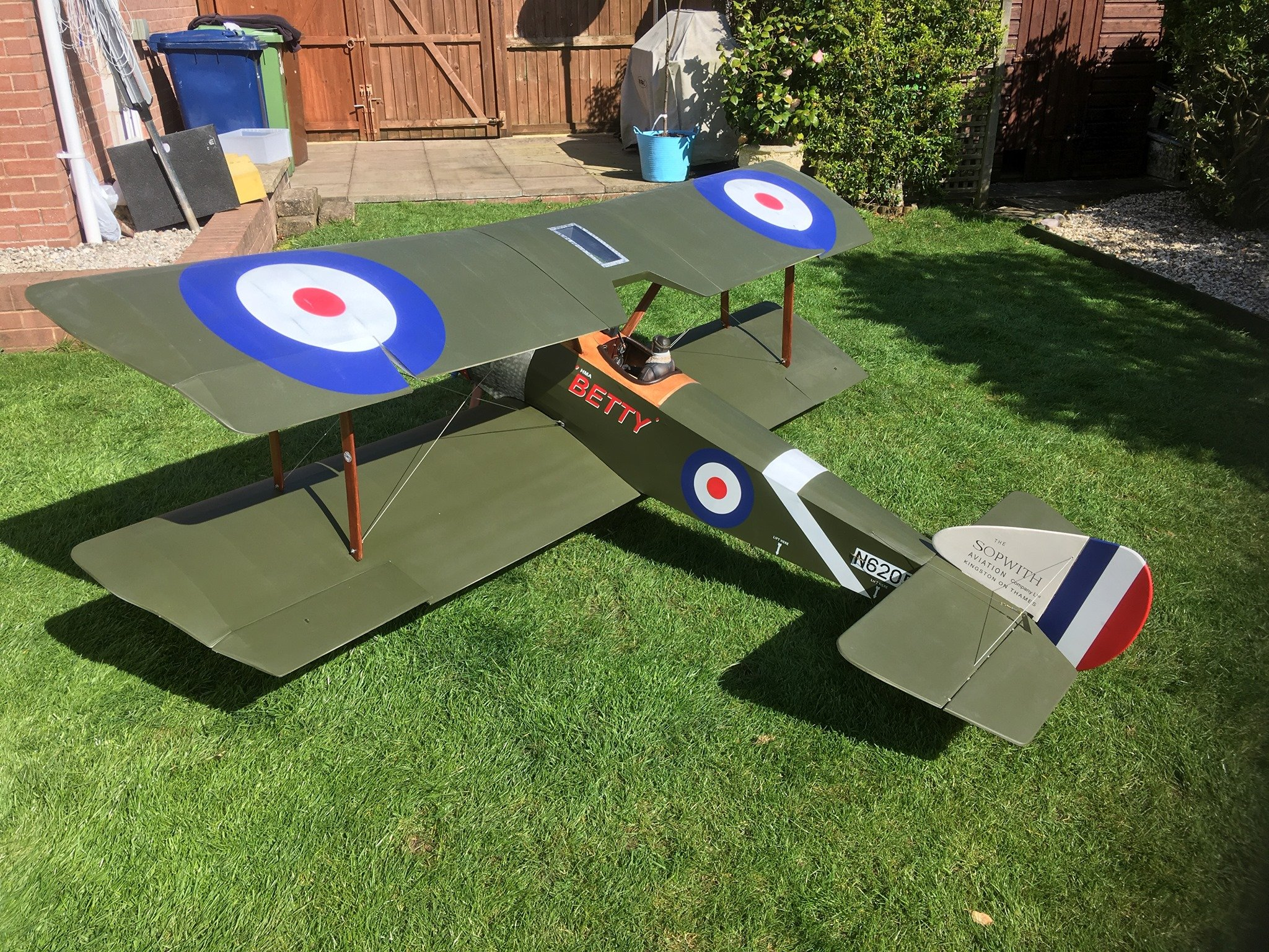1/3 Scale Sopwith Pup 4