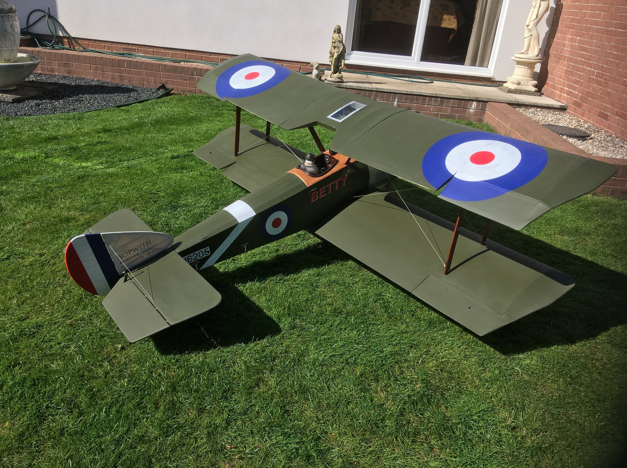 1/3 Scale Sopwith Pup 5