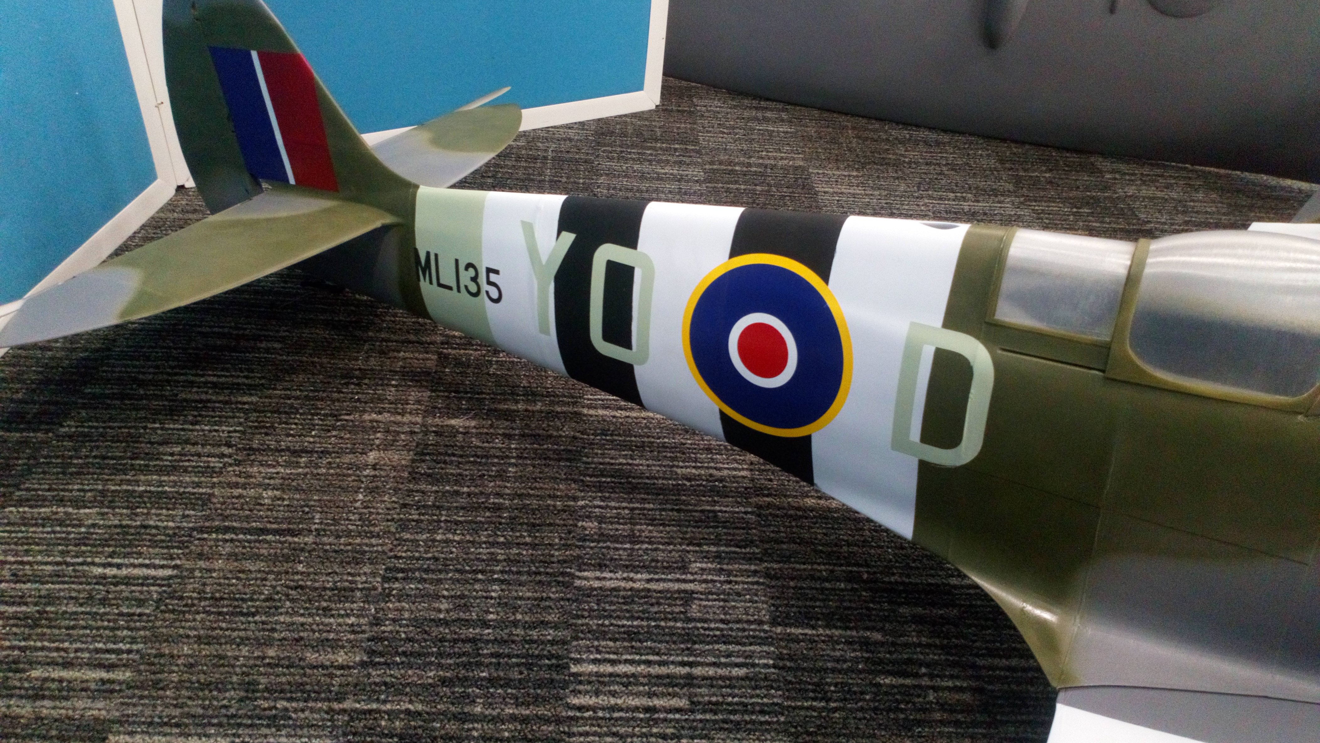 1/6 Scale 3D Printed Spitfire