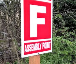 Fire Assembly Point Signs